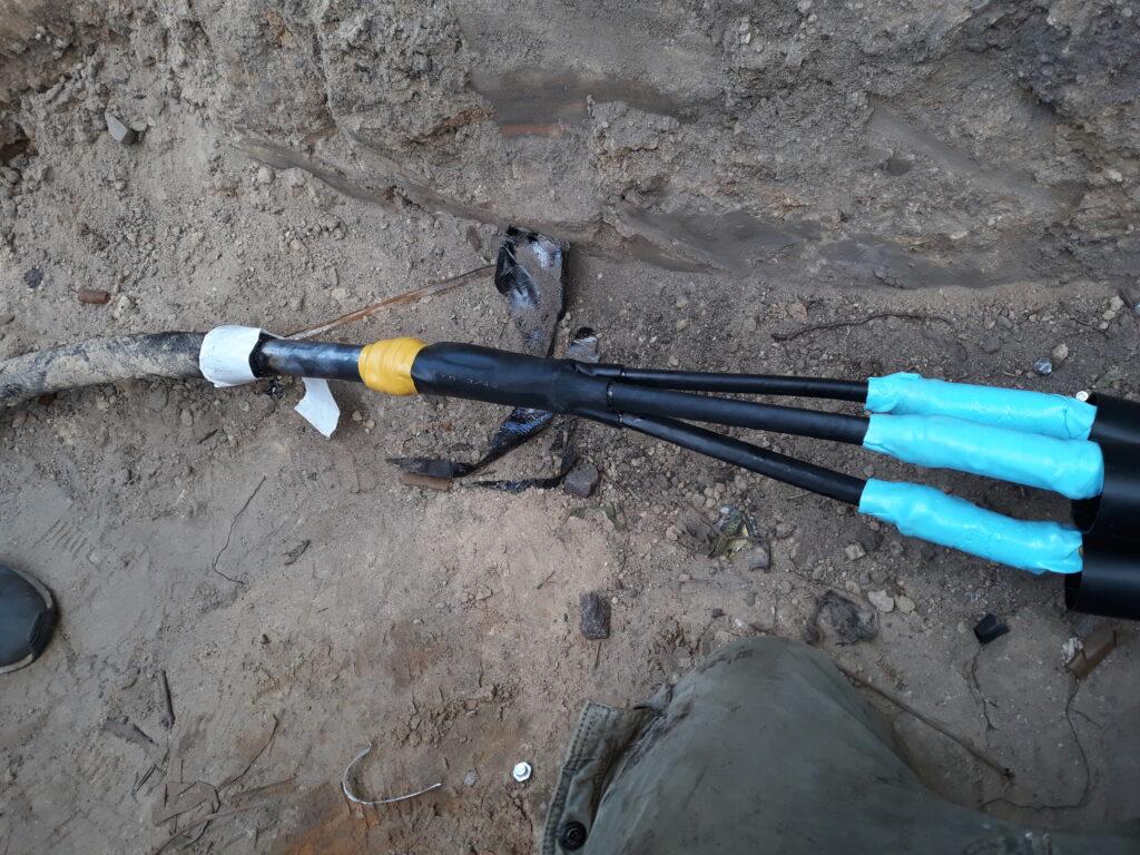 Прокладка силового кабеля в земле, кабельные линии