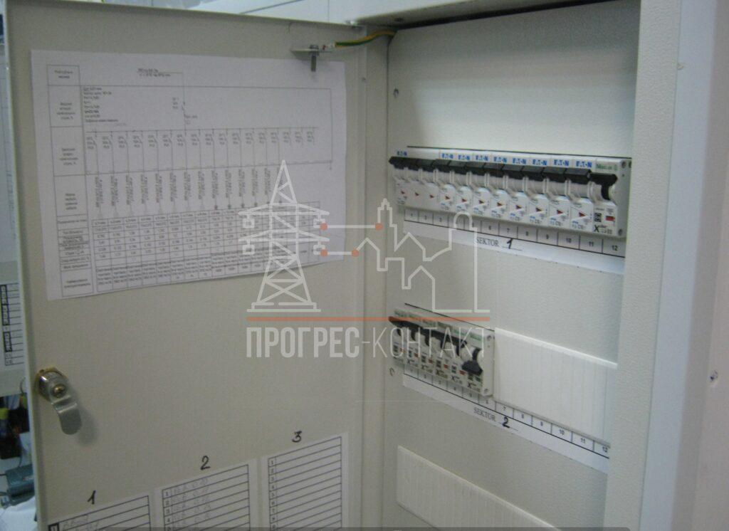 Электромонтаж электрощита и счетчика для офиса, квартиры, Прогрес-Контакт