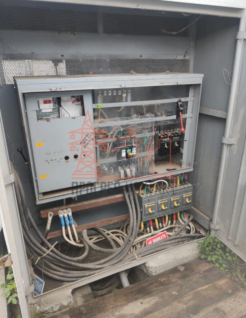 Реконструкция РУ 0,4 кВ, электромонтажные работы