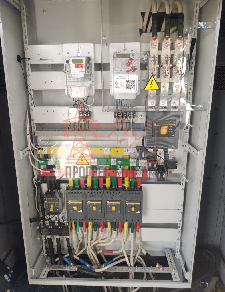 Установка конденсаторной установки, электромонтаж услуги