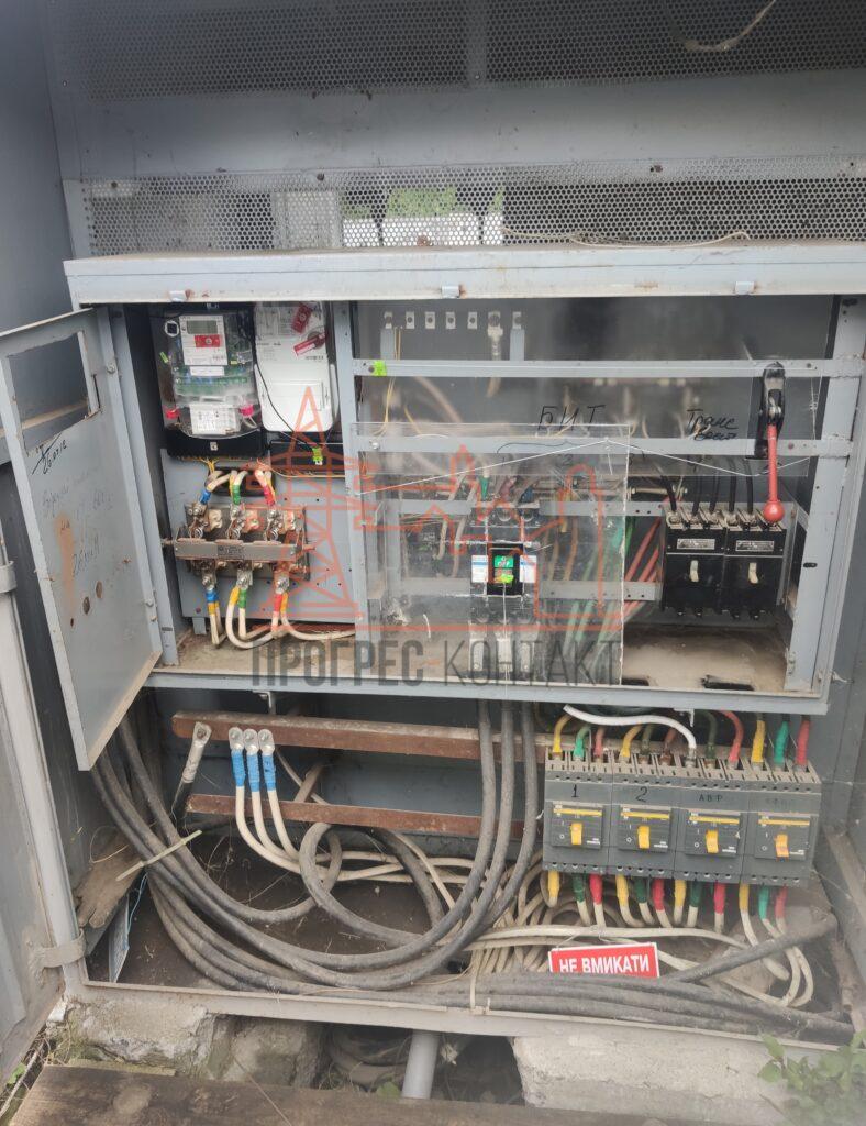 Реконструкция РУ 0,4 кВ, электромонтажные услуги